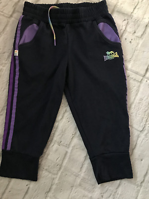 Age 13 Lonsdale Cropped Joggers