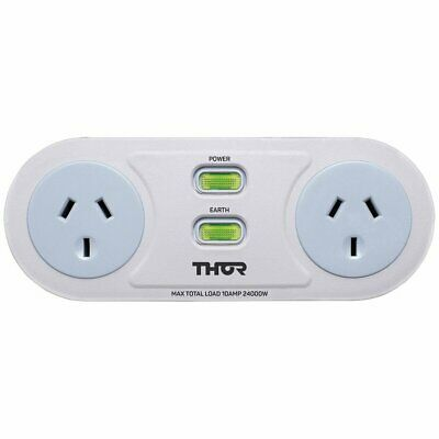 NEW Thor C2 Smart Filter 2x Socket Surge Protector