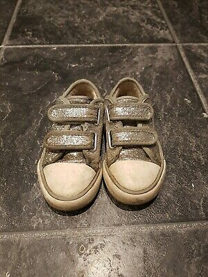 M&S Kids Girls Size 7 Trainers