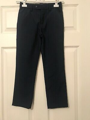 boys next age 9 Smart Navy Trousers