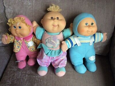 Cabbage Patch Baby Dolls X3