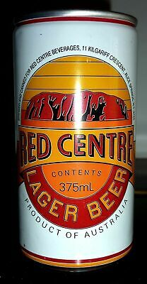 Collectable beer cans - Red Centre Lager Beer 375ml can (N.T)