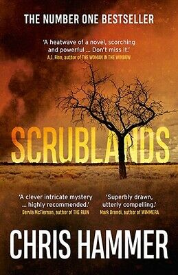 New Scrublands By Chris Hammer (Paperback) Free Postage