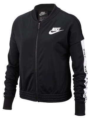 NIKE Sportswear Girls' Tracksuit Tricot Junior Black 9-10yrs (MG) *REF169