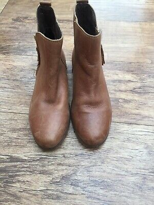 Girls Tan Chelsea Boots From Next Size 4