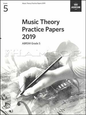 ABRSM Music Theory Practice Papers Grade 5 2019 Past Exams SAME DAY DISPATCH