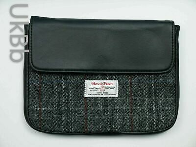 Genuine Harris Tweed ipad Mini Galaxy Tab 7 Tablet Check Clutch Bag