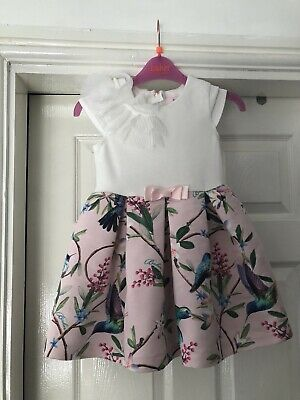 Girls Ted Baker Dress Age 3-4 Years
