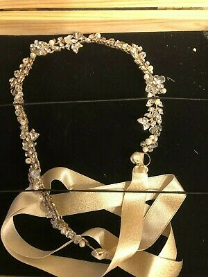 BHLDN justins & taylor handcrafted jewelry bridal headpiece