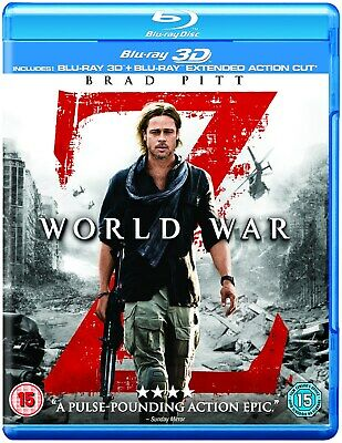 World War Z: Extended Action Cut (3D Edition with 2D Edition) [Blu-ray]
