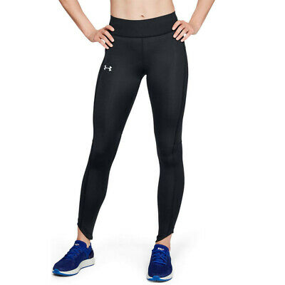 Under Armour Womens Outrun The Storm Tights Bottoms Pants Trousers Black Sports
