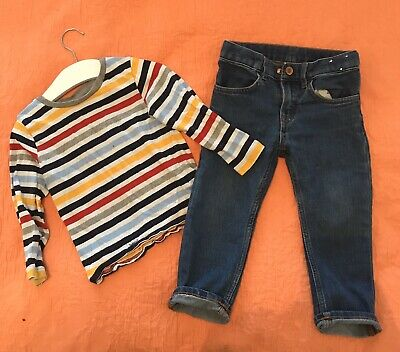 Boys Bundle Age 2-3 Years H&M - Jeans And Top BARELY WORN VGC