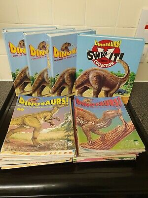 Orbis Dinosaur Complete Magazine Collection 1-104 Plus Swap It Cards Dinosaurs!