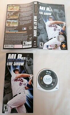PSP - Playstation Portable MLB 07 The Show Baseball Sony PSP 2007 Complete PAL