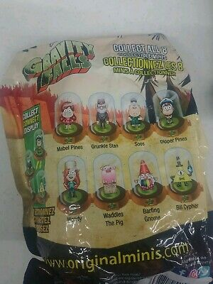 Gravity Falls Domez, Series 1.    (UNOPENED)  LOT OF 5  DOMEZ