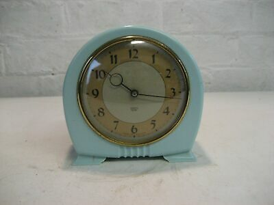 VINTAGE SMITH SECTRIC ART DECO STYLE ELECTRIC MANTLE CLOCK  (Parts or Repair)