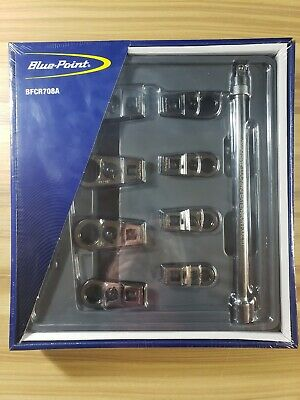 """Blue Point BFCR708A 9pc 3/8"""" Drive 12-Point SAE Ratchet Crowfoot Wrench Set 8165"""