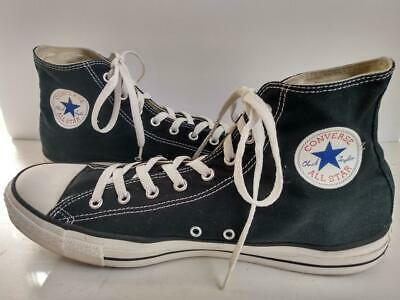 413613 Converse Mens All Star High Top Charcoal Skateboarding Shoes Size 6.5