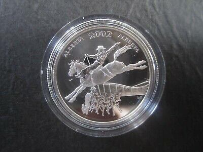 50 Fifty Cent 2002 Proof Half dollar  RCM Festival Canada Calgary Stampede Coin
