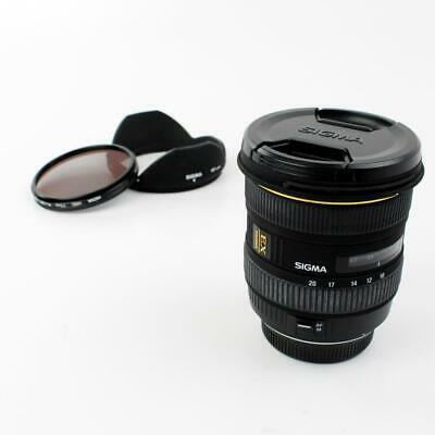 Sigma 10-20 mm f4-5.6 EX DC for Mirrorless DSLR Cameras with 4/3rd Mount