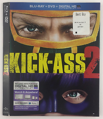 Kick-Ass 2 UNIVERSAL *Slipcover ONLY* for Blu-ray EMBOSSED