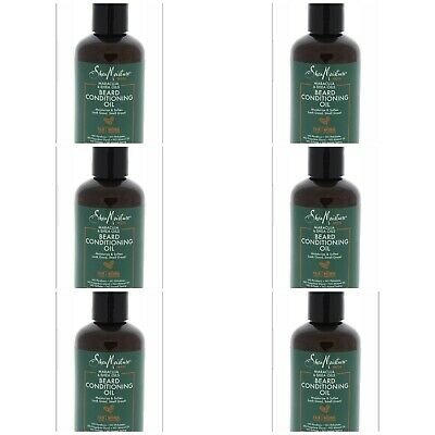 Shea Moisture Men Maracuja  Shea Oils Beard Conditioning Oil 3.2 oz Lot - (6)