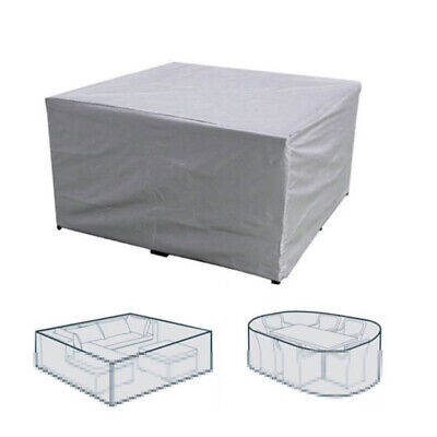 UK Premium Heavy Duty Waterproof Rattan Cube Cover Outdoor Garden Furniture Rain
