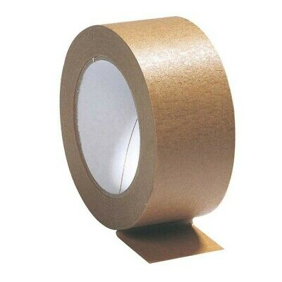 Brown Kraft Paper Tape Self Adhesive Recyclable Eco Friendly Biodegradable