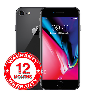 Apple iPhone 8 - 64GB - Space Grey (Unlocked) A1905 (GSM) Smartphone