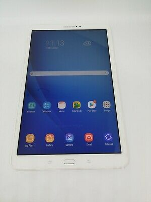 Samsung Galaxy Tab A6 White 10.1 SM-T580 16GB WiFi android tablet VGC *Fast P&P*