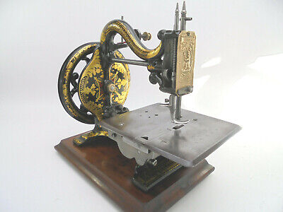 Antique Imperial SM Co 'Agenoria' Sewing Machine c.1870 by W. Ross, Edinburgh