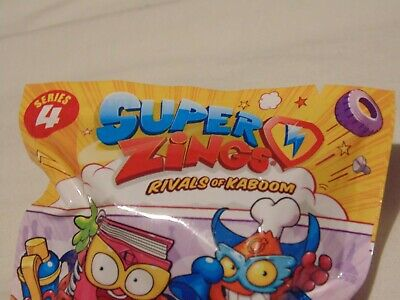 Superzings Series 4 Figures – Surprise Bag – New Collectable