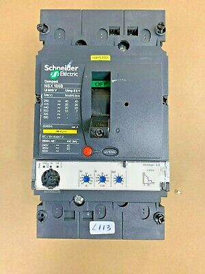 Schneider Electric  NSX 100B                                          L113