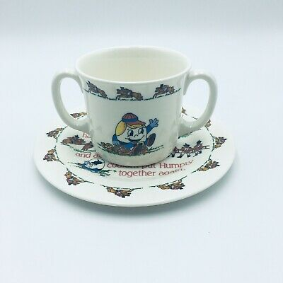 Humpty Dumpty Plate And Cup Set Nally Baby