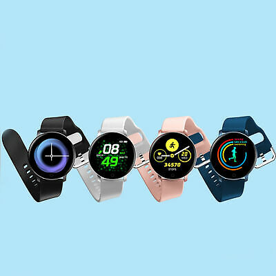Braccialetto fitness impermeabile Smart Watch HD per iPhone Android Samsung