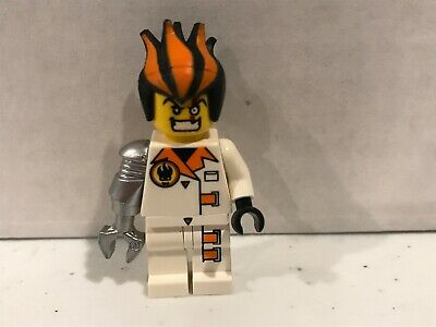 - MINIFIG // MINI FIGURE Inferno Dr LEGO AGENTS Pearl Light Gray Claw