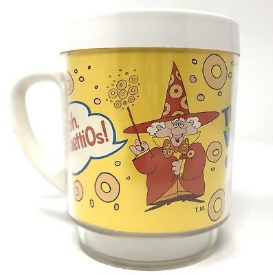 VINTAGE SPAGHETTIOS The Wizard of O's Thermo Coffee Mug / Cup by Dawn