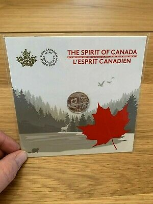 2017 $3 The Spirit of Canada RCM Fine Silver Coin