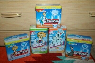 Lot of 5 THE JETSONS Electrasol Limited Edition Collector's Tin Cans Estate Find