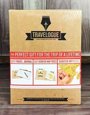 TRAVELOGUE Personalized Travel Journal Perfect For Trip Of A Lifetime -NEW-