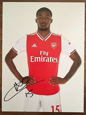 Autogrammkarte AK *AINSLEY MAITLAND-NILES* FC Arsenal London 19/20 2019/2020 RAR