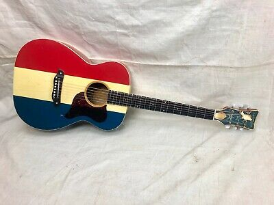Vintage Harmony Buck Owens H-169 Acoustic Guitar Player Project 1969-1970