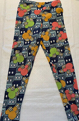 Girls Small/medium Leggings Sz 2-8 Lularoe Disney Fast Shipping! NWOT