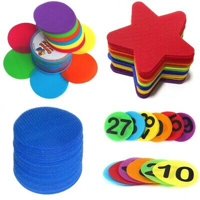 Carpet Spots Classroom Markers, Sit Dot Position Circles for Kids and Teachers