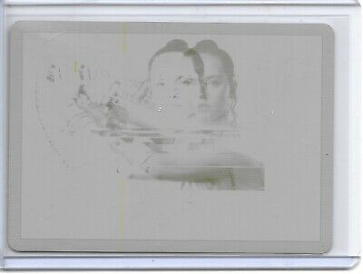 2019 Topps Star Wars Rise of Skywalker REY YELLOW PRINTING PLATE #1/1!!
