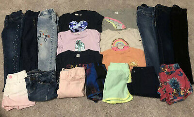 Gap Girls Size Small 6-7 Bundle, 19 Pieces Of Clothing!