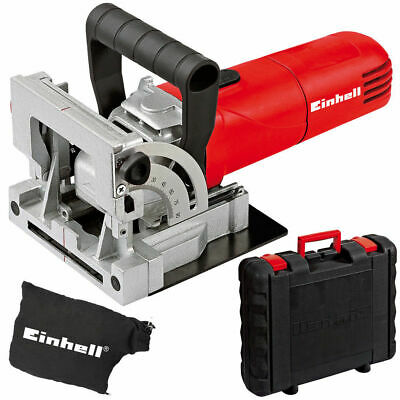 EINHELL TC-BJ 900 Biscuit Jointer Joiner Wood Work Tool Dust Bag
