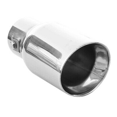 Double Car Exhaust Tip Trim Pipe For Renault Clio Espace Megane Scenic Trafic