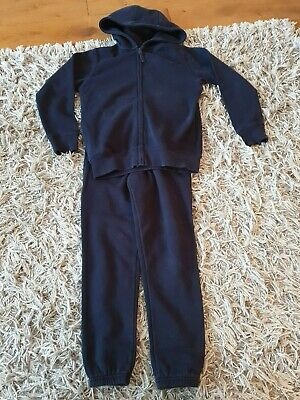 Girls Navy Track suit from Matalan Age 9yrs