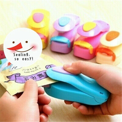 Hot Mini Sealing Machine Portable Heat Food Plastic Bag Travel Home Tools Sealer